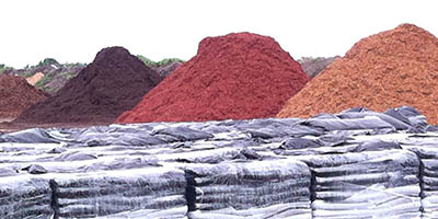 colored mulches